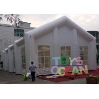 Quality EN14960 White Inflatable Tents for Wedding , Party / Event Inflatable Lawn Tent for sale