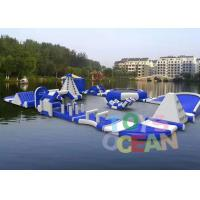 China Outdoor Inflatable Floating Water Aqua Park For Adults Amusement Play wholesale