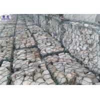 China Acid Resisting Galvanized Gabion Baskets For Water Soil Protection wholesale