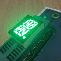 "China Pure Green 0.8"" 16 Segment Alphanumeric Display High Luminous Intensity Fit Instrument Panel wholesale"