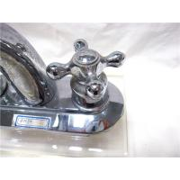 Quality Stainless Steel Kitchen Faucets Pull Down With Two Handle , 2 Hole Kitchen for sale