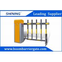 China 6S 220v Smart Traffic Barrier Gate , Retractable Paking Boom Barriers wholesale