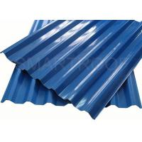 China Sound Proof  Villa Plastic Roof Material Easy To Install , PVC Hollow Sheet on sale
