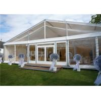 China Arabic Style Fire Proof Clear Event Tent Clear Party Tent 15m * 35m With Tables / Chairs wholesale