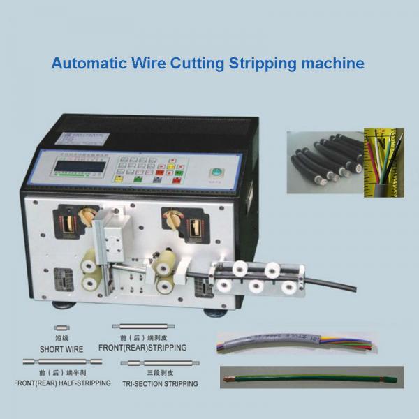 Quality Multi - Core Cable Cutting Stripping Machine  Wire Cut Strip Crimp Machine for sale