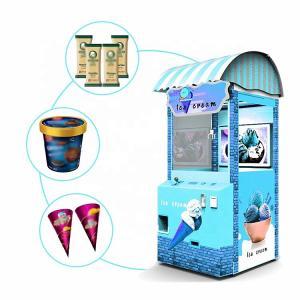 China Hardware Material Refrigerated Vending Machine /  Ice Cream Claw Machine on sale