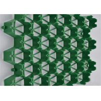 China Geocomposite Draom, Plastic Paving Grids 500mm Length Simple Structure For Parking Lots on sale