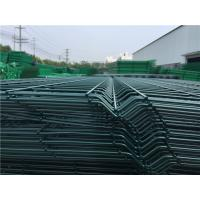 Buy cheap 3D Curved Bending Metal Mesh Fencing Broad Vision With 2 / 3 / 4 Folds from wholesalers