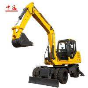 China JHL85 8.5 Ton Wheel Excavator wholesale