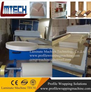 China pvc furniture decoration film vacuum membrane press machine for door wholesale