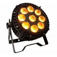Buy cheap Outdoor Waterproof 9pcs*18w 6in1 RGBWA UV Led  High Quality Wash Slim Par Light from wholesalers