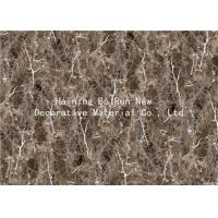 China MDF Panel Board Cover Fake Marble Adhesive Film Fire For Home Decor Prevention wholesale