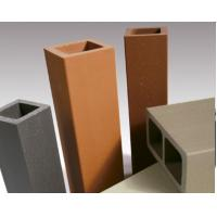 China No Light Pollution Terracotta Baguettes Sunscreens Tube Pipe For Construction wholesale