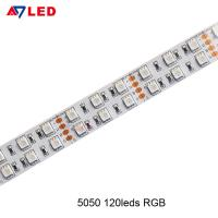 China Adled light high lumen 5m 5050 smd 120 leds/m color changing strip led rgb with remote wholesale