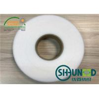 Buy cheap Strong Bondstrength Hot Melt Double Side Fusible Non Woven Interlining Tape Soft Handfeeling from wholesalers