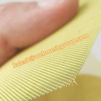 "China 8 Mesh Brass Wire Screen 0.028"" Wire Dia. For Fireplace Screen wholesale"