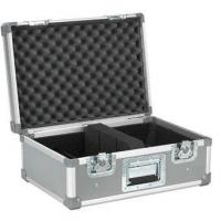China Aluminum Travel Case Silvery 10mm Plywood / Moving Head Light Case wholesale