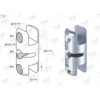 China Satin Finishing Double Sided Clamp Wall Picture Hanging System Components on sale