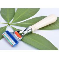 China Custom Double Edged Safety Razor with ivory handle , butterfly razor sharpener wholesale