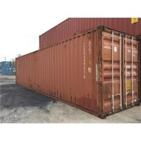 China 45ft  High Cube Second Hand Steel Containers For Land Ocean Transport wholesale