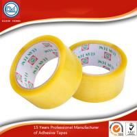 China Custom BOPP Security Packaging Tape Environment Protection Yellowish 60m wholesale