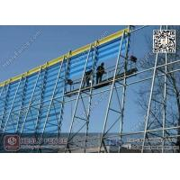 China Wind & Dust Suppressing  Fence System for Coal Storage/Powder Plant wholesale