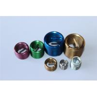 China M4 M8 M10 M12 etc fastener ISO screw threaded insert with different colors wholesale