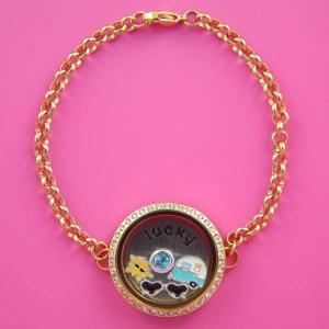 China Wholesale Newest stainless steel floating locket bracelet wholesale