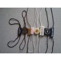 China custom plastic hang tags plastic clothes label tags wholesale manufacturer wholesale