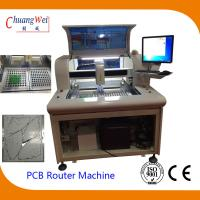 China PCB Depaneler PCB Routing Machine with Windows 7 Operation System wholesale