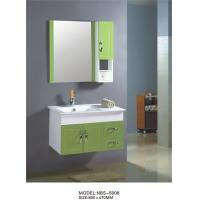 China 80 X47/cm PVC bathroom cabinet / wall cabinet / hung cabinet / white color for bathroom wholesale