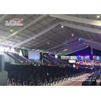 China 6m Side Height Aluminum Outdoor Exhibition Tents 40mx100m For Events / Trade Show wholesale