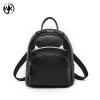 China Fashion private label backpack small leather backpack women China factory wholesale price cute leather lady bags wholesale