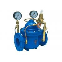 China Pressure Reducing Valve  DN 300 PN16 With Pilot Circuit  Including Automated Control Downstream Pressure wholesale