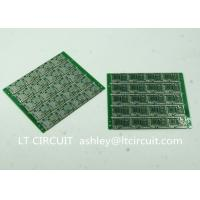China Four Layer Multilayer Printed Circuit  Custom Pcb Board 0.8MM Green Solder Mask wholesale