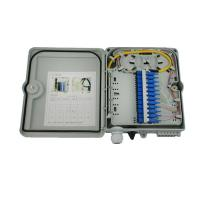 China White FDB outdoor Fiber Optic Distribution Box CE FTTH network optical distribution box wholesale