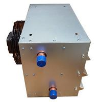 China 150000 BTU Hanging Unit Heaters with blade fan 110V/60HZ Copper tube Water to air heat exchangers wholesale