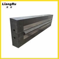 China Casting Blow Bars For Impact Crushers , Quarry Aggregates Reclyding Bar Crusher Spare Parts on sale