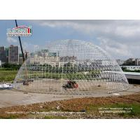 China Large Durable Steel Diameter 55m Geodesic Dome Tents for Luxury Outdoor Event wholesale