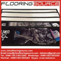 China Rubber Bar Runner nitrile rubber base polyester top Beer Runners Mats wholesale