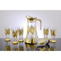 China Unique Decorative Wine Drinking Glasses Sets for Hotel, Restaurant YJD-8607 wholesale
