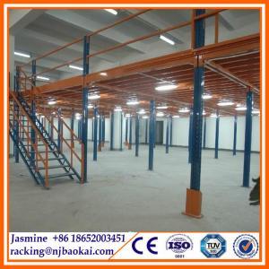 China Warehouse Storage New Customized Industrial Steel Platforms Mezzanines wholesale