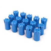 Buy cheap Tapered Tungsten Carbide Button Tipped Rock Drill Bit for Rock Drilling from wholesalers