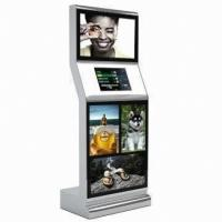 China LINUX / Win3.X  dual display touchscreen multimedia information advertising / lobby touchscreen kiosk wholesale
