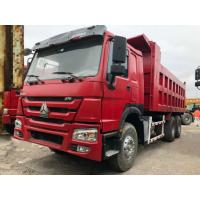 China 30 Ton 6*4 Sinotruk Howo Used Dump Truck , Second Hand Tipper Truck For Construction wholesale