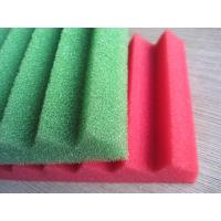 China Studio Wave Fireproof Breathable Sound Proof Sponge with Costom Size Color wholesale
