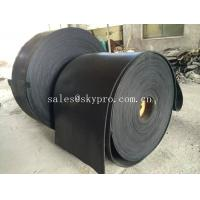China Multi-ply black EP rubber conveyor belt abrasion and heat resistant wholesale