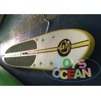 China Adults Inflatable Water Toys / Inflatable Sup Board Boat With Sail Stand Up Board wholesale