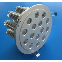 China Residential Warm white 2550lm Round 45W LED Downlight Fixtures 15PCS 3W Lamp Bulb wholesale