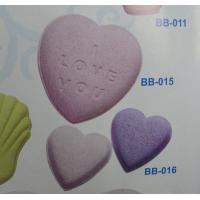 China Aromatherapy Experience Natural Heart Shape Bath Fizzer with Juniper wholesale